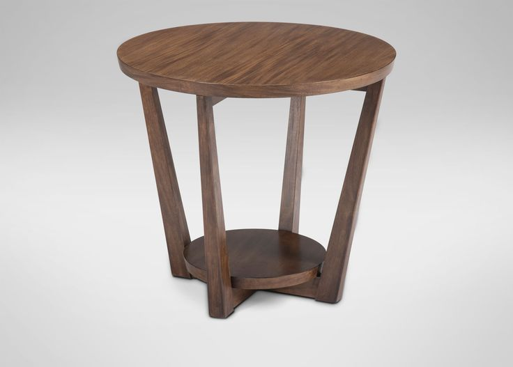 Buy Ethan Allenu0027s Glendale Round End Table Or Browse Other Products In Side  Tables.