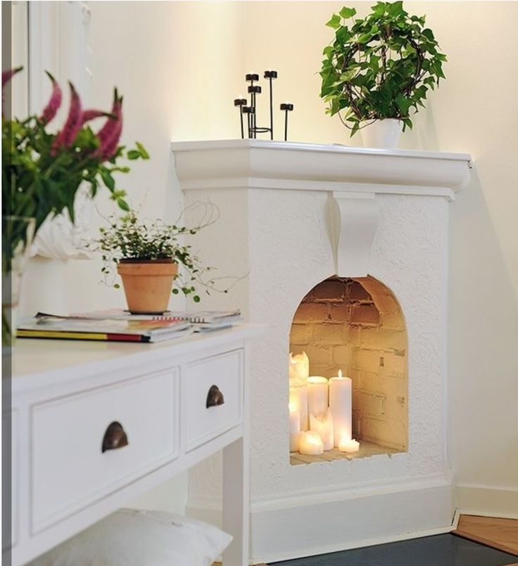 Non-working fireplace