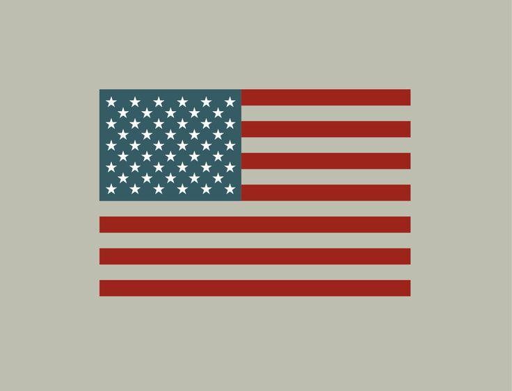 1000 id es sur le th me drapeau am ricain sur pinterest for Decoration interieur americain
