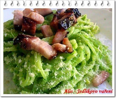 Jedlíkovo vaření: Špagety s medvědím česnekem
