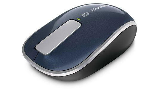 A clutter-free way to stay productive on the go....Sculpt Touch Mouse    Looking for a portable mouse that helps you get things done? Sculpt Touch Mouse saves time in long documents and works virtually anywhere, with no cables or transceivers to connect. And it's designed to fit comfortably in either hand.
