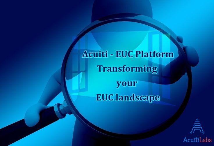 Acuiti-EUC Platform can easily convert the critical data into enterprise level model that are secured & flexible. See how it is useful for non-programming users >> http://acuitilabs.co.uk/