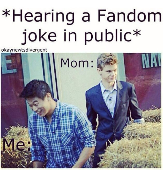 more like me and my friend. who would be laughing with me and then running to meet another freak like us.