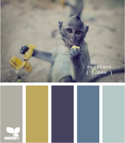 This might be it! All my colors in the same palette. Blue, mustard, gray then swap the blue for purple when baby girl gets here.