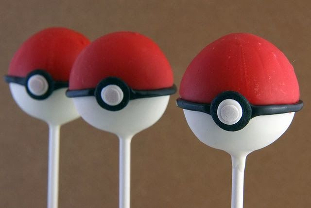 Life Is Amazing: Blake's party pokemon cake pops