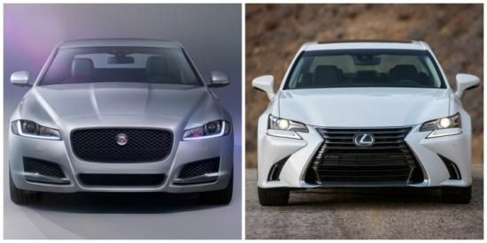 Lease maar: Jaguar XF of Lexus GS