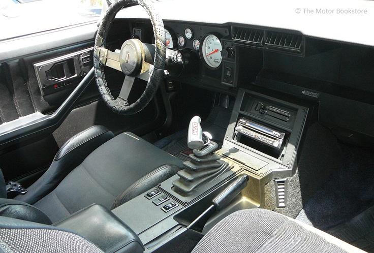Image Gallery 1984 Camaro Interior
