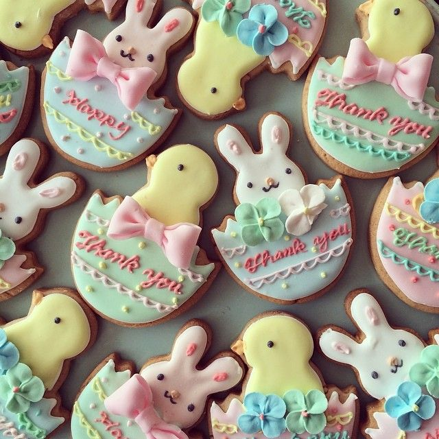 the easter cookies