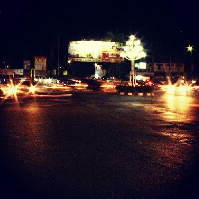 Night on light #Alunalunkarawang