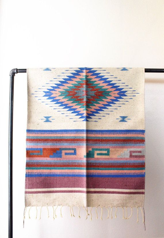 RUG // southwestern rug throw rug area rug by SonoranSupplyCo