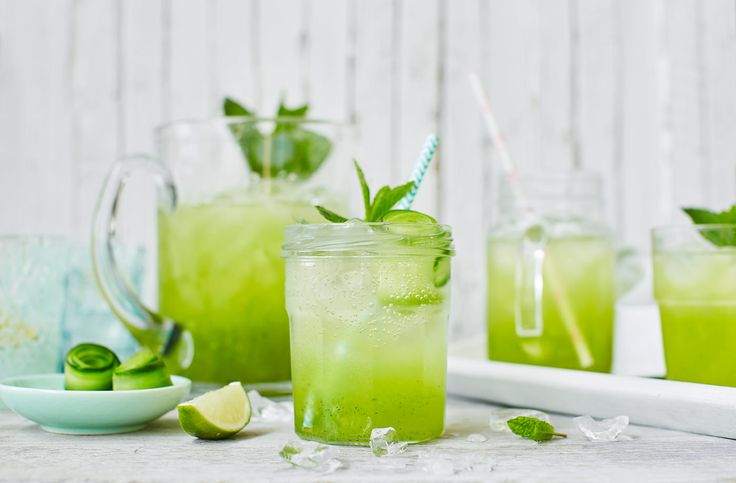 Cucumber Coolers Recipe | Summer Drinks | Tesco Real Food