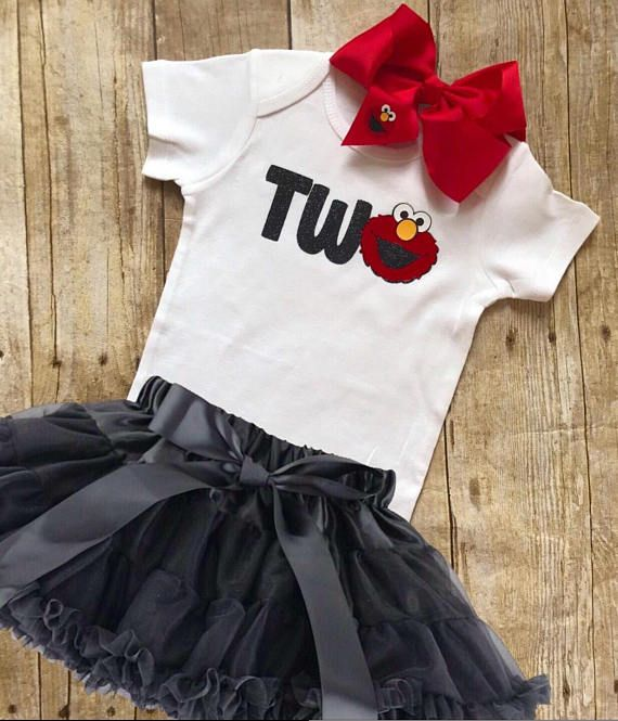 Hey, I found this really awesome Etsy listing at https://www.etsy.com/listing/557575823/elmo-birthday-tshirt-glitter-two-onesie