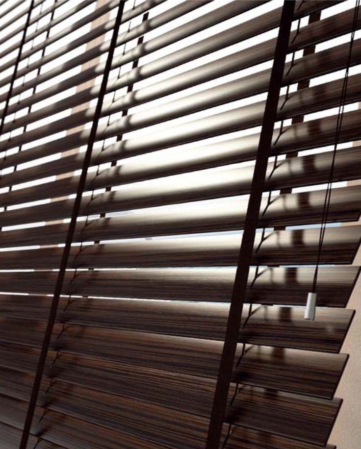 ζεμπράνο ξύλινες περσίδες/zebrano wooden blinds