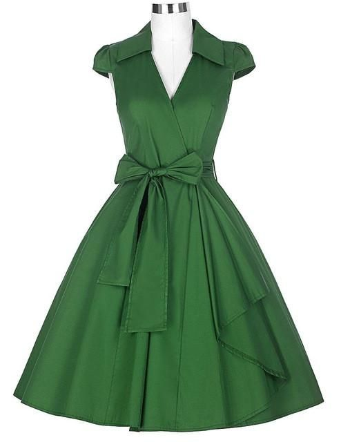 Audrey Hepburn Vintage Style Summer Dresses  1d28466aba