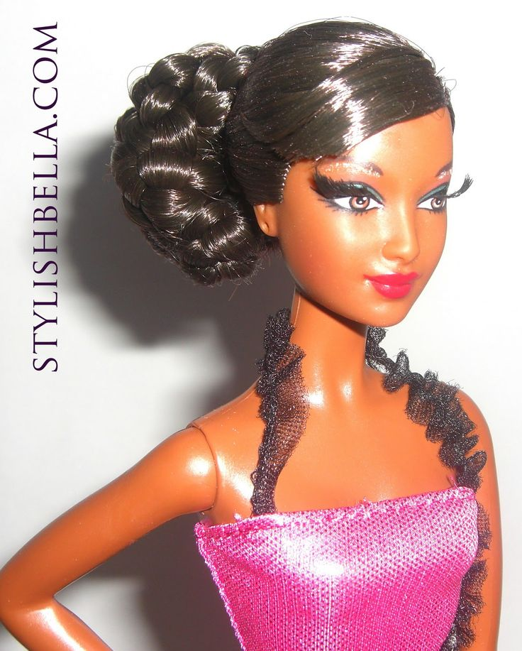 Black Barbie Dolls With Natural Hair Naturally Beautiful