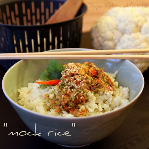 Thermomix recipe for cauliflower mock rice