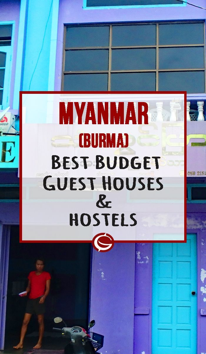 Best Budget Accommodation in Myanmar. Cheap hostels and guest houses in Yangon, Hsipaw Inle Lake, Bagan Hpa An and more | Globemad Blog: