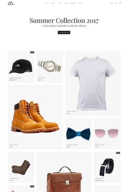 Summer Clothing Collection Online Store #WooCommerce #template. #themes #business #responsive #WooCommercethemes