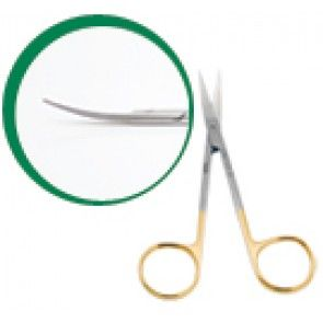 Tesoura Cirurgica Iris Com Videa Curva 12Cm R642-12D - Richter