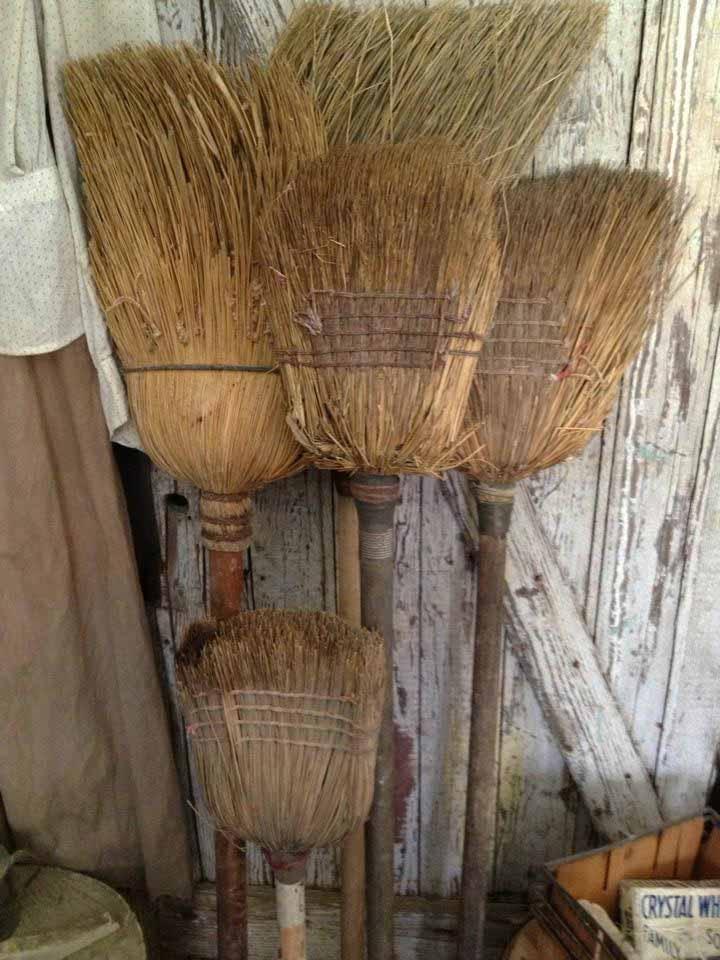 201 Best Vintage Brooms Images On Pinterest Brushes