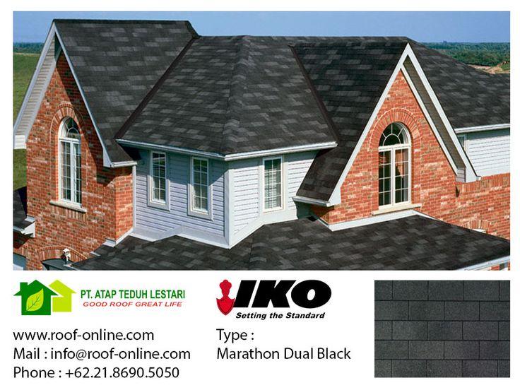 IKO Marathon 20 - Dual Black, 20 years warranty.
