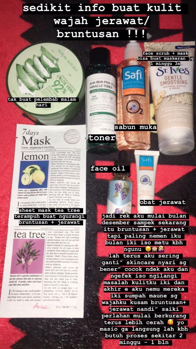 Skin Care Untuk Kulit Kering Kusam Berjerawat