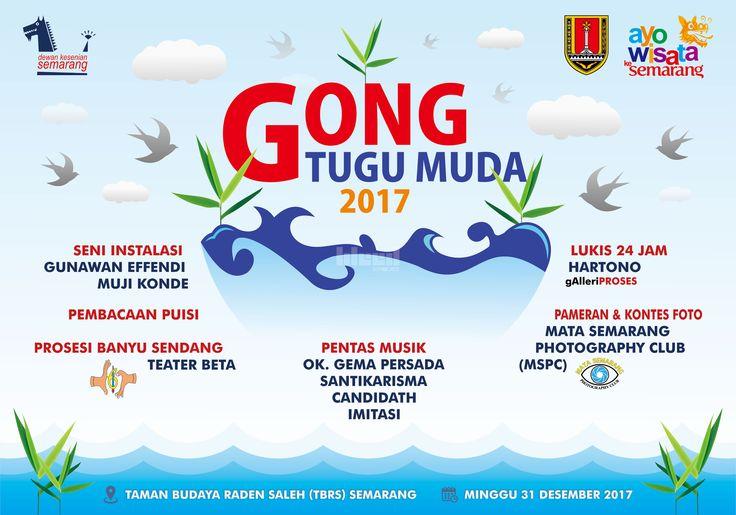 """Design for """"Gong Tugu Muda 2017""""  © 2017 @bleedsyndicate"""