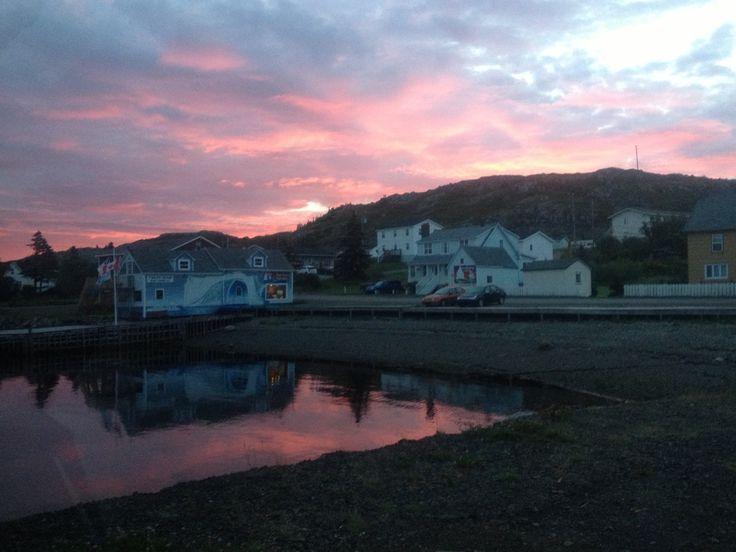 Early morning sunrise Twillingate, NL