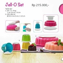 Jell-O Set - Tupperware Bogor | Katalog Tupperware Maret 2013 Nama Produk: Tupperware Jell-O Set Harga: Rp. 215,000,- Ukuran: a. Jell – O – Ring: 1L /ø: 24 cm; t: 8 cm b. Mini Jello (4): @100 ml /ø: 8 cm; t: 6,5 cm Deskripsi: