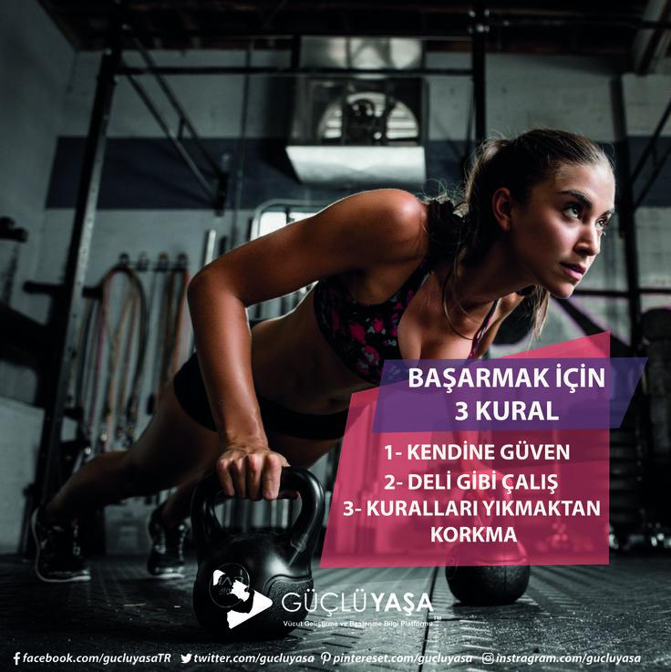 Kendinize meydan okumadığınız sürece sonuca ulaşamazsınız. gucluyasa.com  #vücutgeliştirme #bodybuilding #egzersiz #gymmotivation #fitness #motivasyon #fitlife #fityaşam #spor #antrenman #idman #muscle #vücut #kadın #kadınlaraözel #arnold #halter #cardio #kardiyo #türkiye #güçlüyaşa