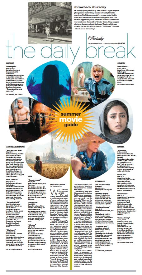The Daily Break, May 7, 2015.