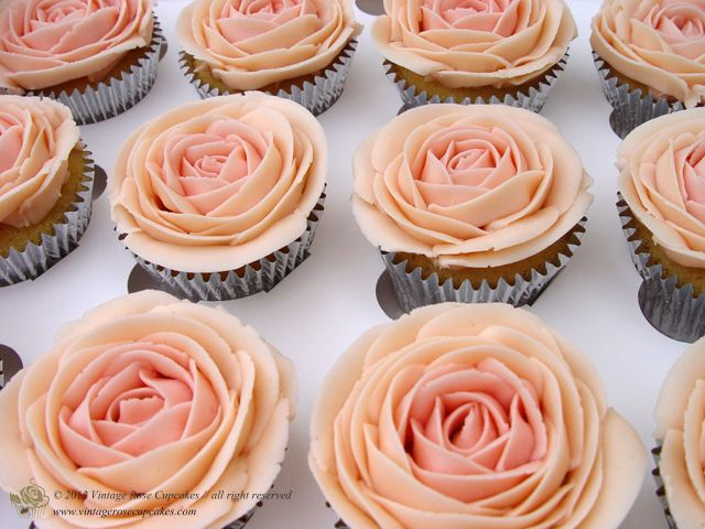 rose cupcakes: Cupcakes Design, Vintage Wardrobe, Cakes Maker, Google Search, Baking Ideas, Rose Cupcakes, Vintage Rose, Cupcakes Rosa-Choqu, Cupcakes Galleries