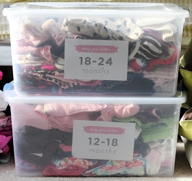 inBloom Studio: freebie storage labels + getting organized