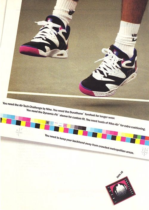 agassiads02iv2 Nike Air Tech Challenge [1, 2, 3 & 4] Hybrid