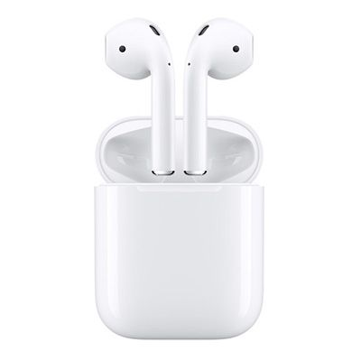 Apple AirPods - wireless headphones, small headphones, white headphones, cordless headphones, no cord headphones