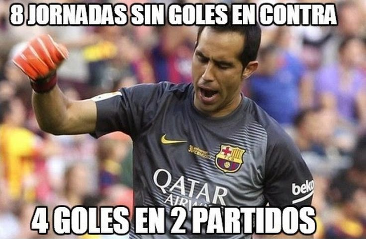 Memes de la caída del Barcelona ante el Celta de Vigo en la Liga española