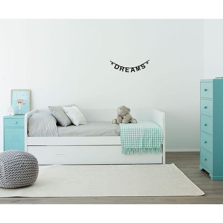 M s de 25 ideas incre bles sobre camas nido en pinterest for Divan hemnes colchon 90