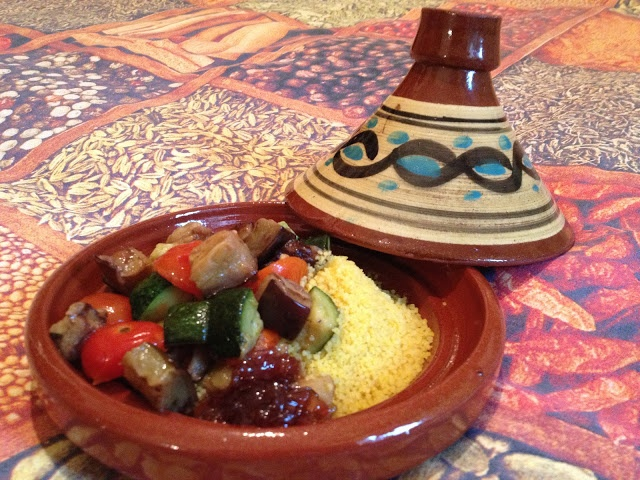 cous cous agrodolce con verdure - italian food, love italy