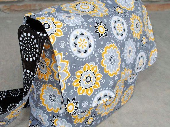 how to make a crochet diaper bag
