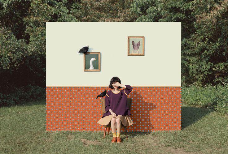 Puzzleman Leung fashion photography via Nelli Arnths blog