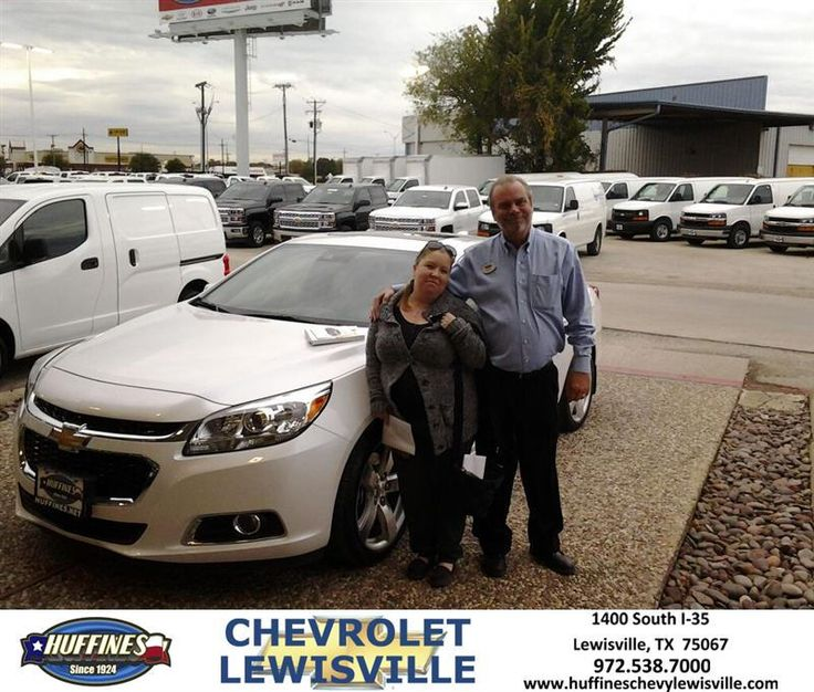 https://flic.kr/p/B42vjo | Congratulations Chastity on your #Chevrolet #Malibu from Steven Lewis at Huffines Chevrolet Lewisville! | deliverymaxx.com/DealerReviews.aspx?DealerCode=UBM1