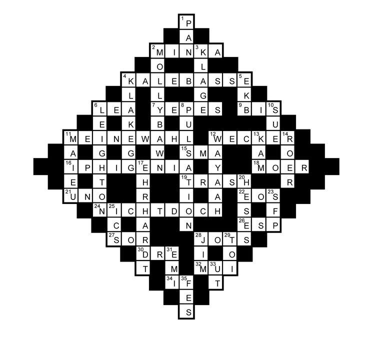 Das neue Musik-Kreuzworträtsel im Juni 2017