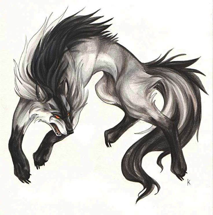 17 best ideas about cool wolf drawings on pinterest fox for Cool fox drawings