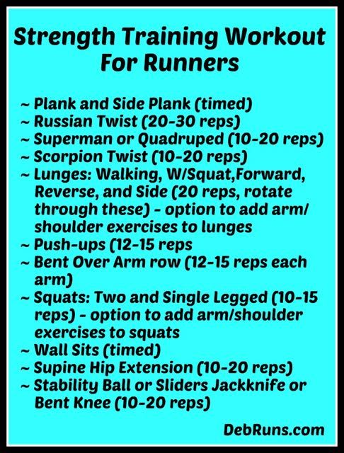 Power Training: Power Training For Runners