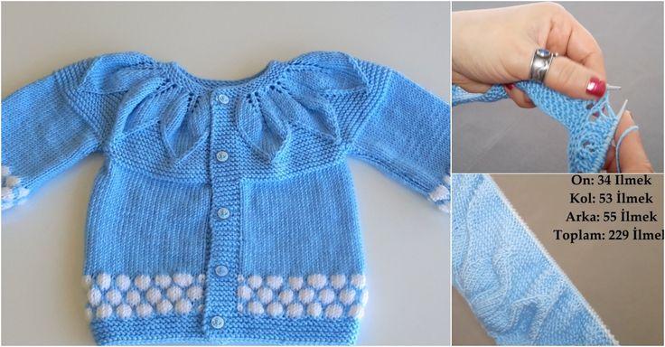 Robadan badem dilimli bebek hırkası yapılışı yazımızda çok güzel bir bebek örgüsünü sizlerle paylaştık. Hırka yapmak isteyenlere harika bir model!