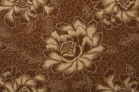 Waverly Boho Batik Sun & Shade Printed Poly Outdoor Fabric in Chestnut $8.95 per yardOutdoor Fabrics, Fabrics Like Guru, Wholesaling Fabrics, Upholstery Fabrics, Drapery Fabrics, Discount Fabrics, Fabrics Remnant