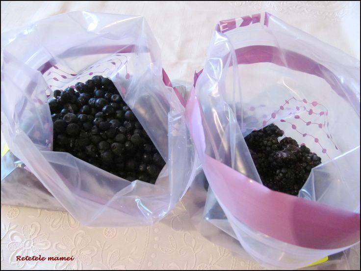 Modul de congelare al fructelor de pădure