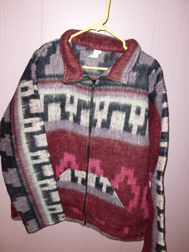 New Southwestern Native American Aztec Pattern Fleece