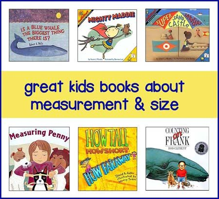 Great kids books about measurement and size