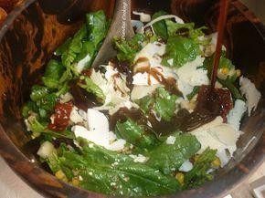 dianitas cooking: Σαλάτα Ρόκα-Παρμεζάνα με Εξαιρετική Σως Βαλσάμικο!!!!!